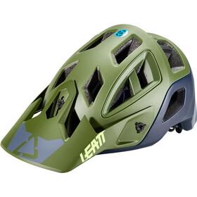 Leatt DBX 3.0 All Mountain Casco, verde oliva/blu